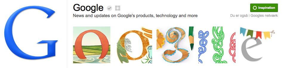 Google på Google+