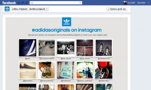 Adidas Originals Instagram på Facebook