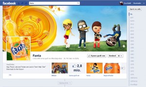 Fanta's Facebook side