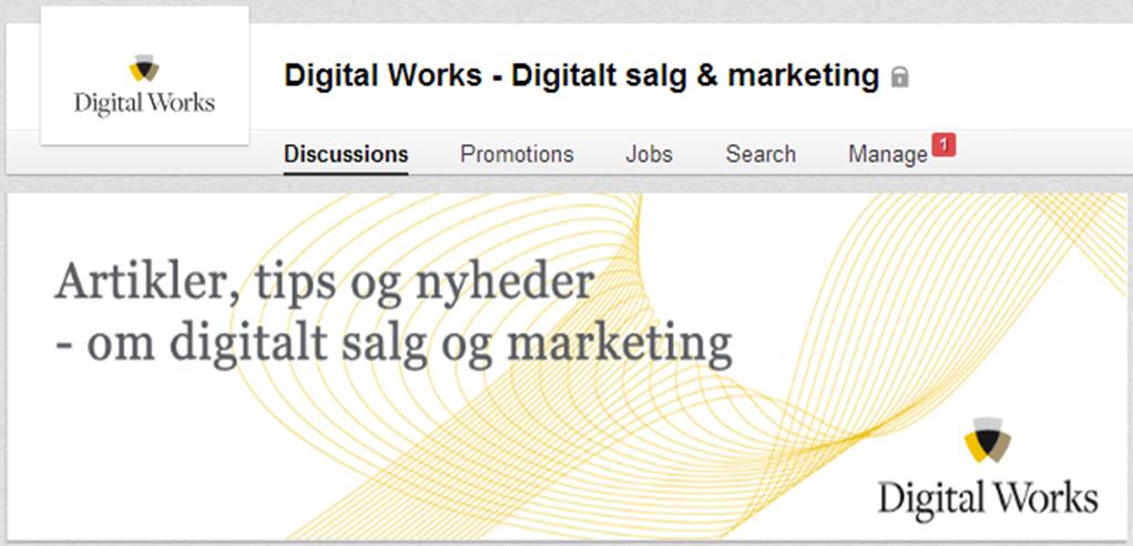 LinkedIn grupper - cover foto