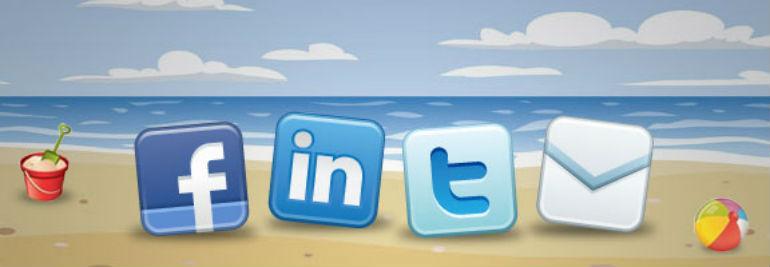 Sociale medier - summertime