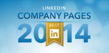 Bedste LinkedIn Company Pages 2014