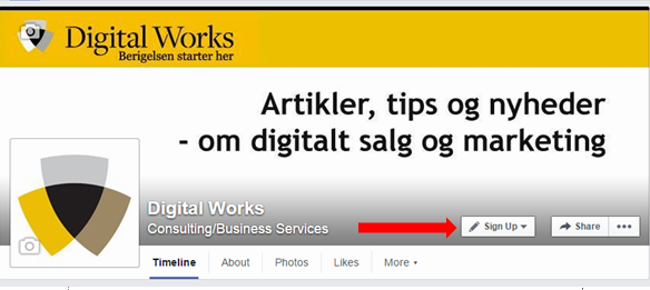 e89b0023c14 Styrk din e-mail marketing med social media | Digital Works