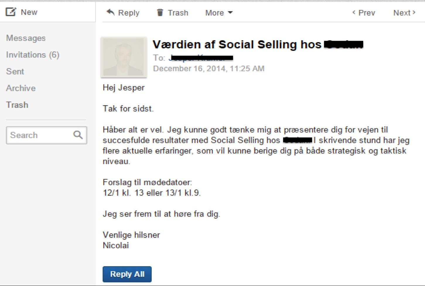 LinkedIn møde case