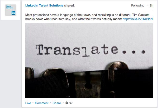 LinkedIn opdatering stort billede