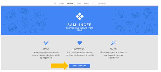 Samlinger Google