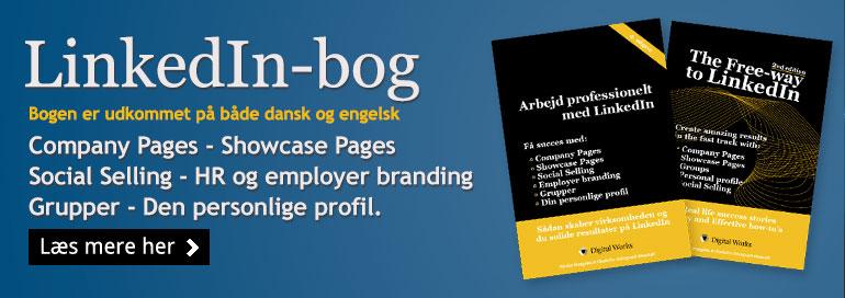 LinkedIn bøger på dansk og engelsk