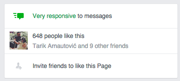 Facebook - Very responsive