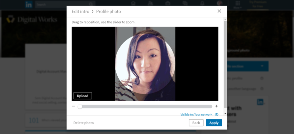 5. linkedin profilbilledet