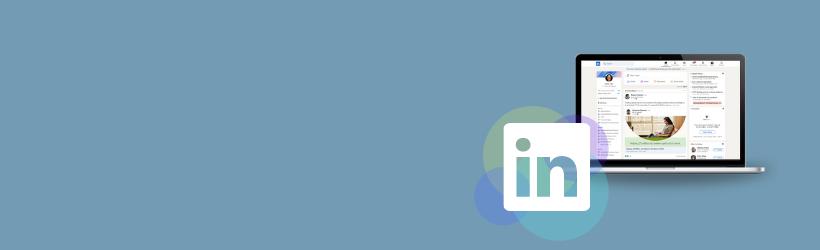 LinkedIn nyt design